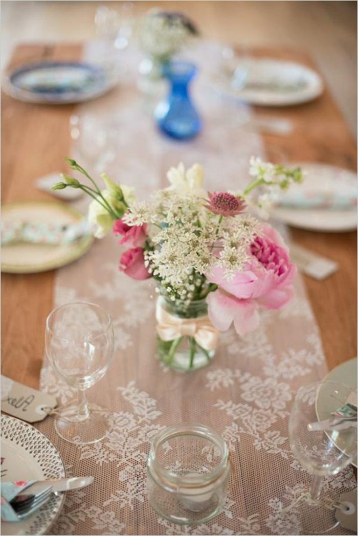 sencillas y bonitas ideas para decorar la mesa, decoracion mesa original con mucho encanto