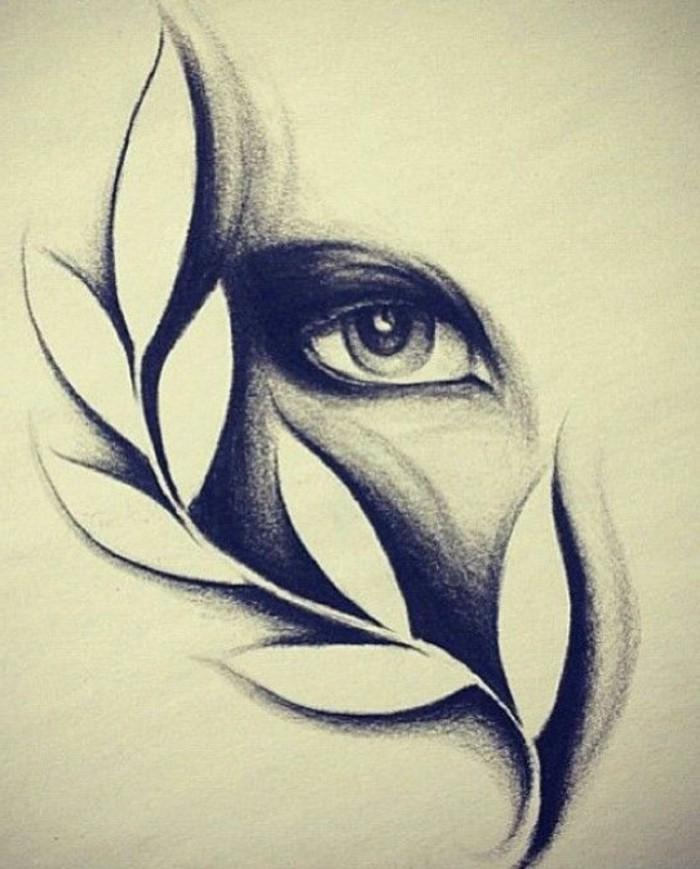 dibujos abstractos que inspiran, hermosos ejemplos de dibujos para dibujar a lapiz para aprender a dibujar