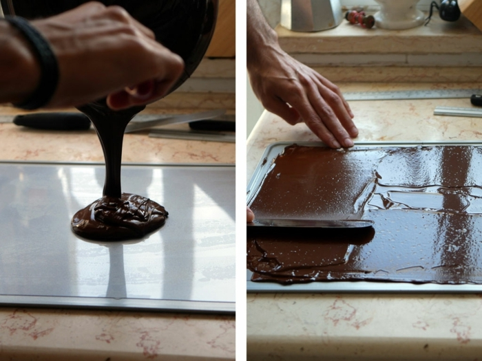 ideas sobre como hacer tarta de tres chocolates, fotos de tartas caseras de chocolate paso a paso