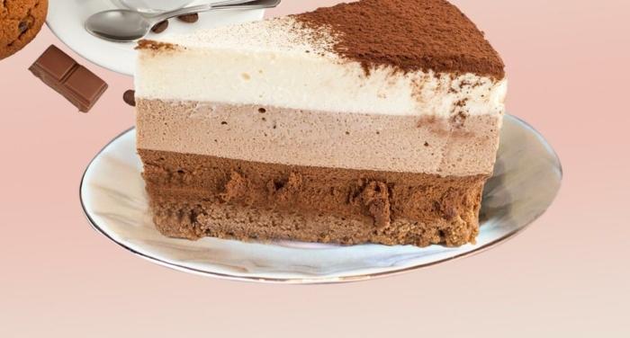originales recetas de tartas a los tres chocolates, tarta de chocolate y nata caseras, recetas y fotos de tartas