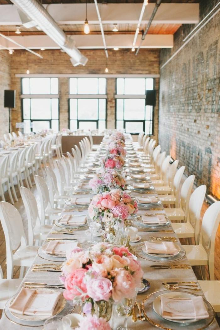 preciosas ideas sobre cómo decorar un comedor en estilo industrial, centros de mesa de comedor