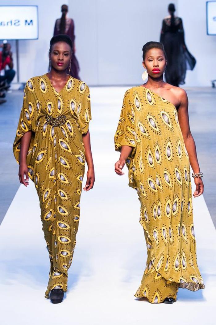 preciosos vestidos africanos mujer, largos vestidos africanos con estampados bonitos