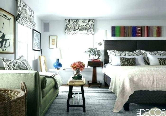 ideas originales para decorar una habitación doble en 90 fotos, decoración de espacios con muchos detalles decorativos
