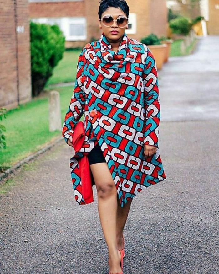 prendas bonitas y versátiles estampadas, vestidos africanos mujer únicos, bonitos diseños de prendas africanas
