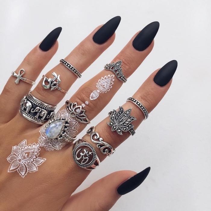 tatuajes tipo henna en blanco, diseños de tatuajes pequeños para los dedos mujer, más de 70 propuestas