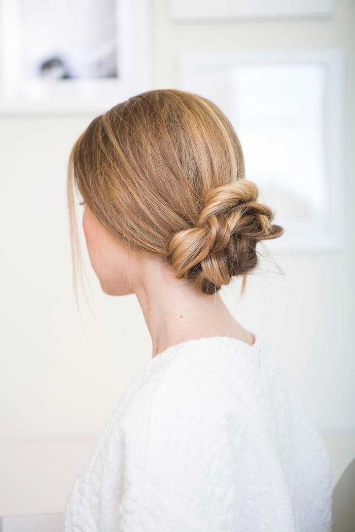 ideas de peinados bonitos y elegantes para hacer en casa, peinados pelo largo de último momento