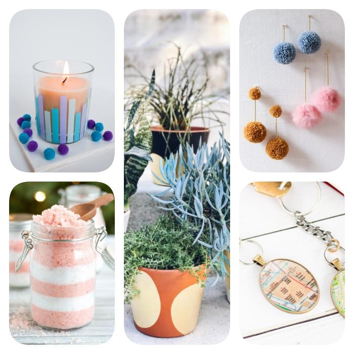 algunas ideas encantadoras de regalos hechos a mano para sorprender a tus amigos y familia esta Navidad, regalos DIY