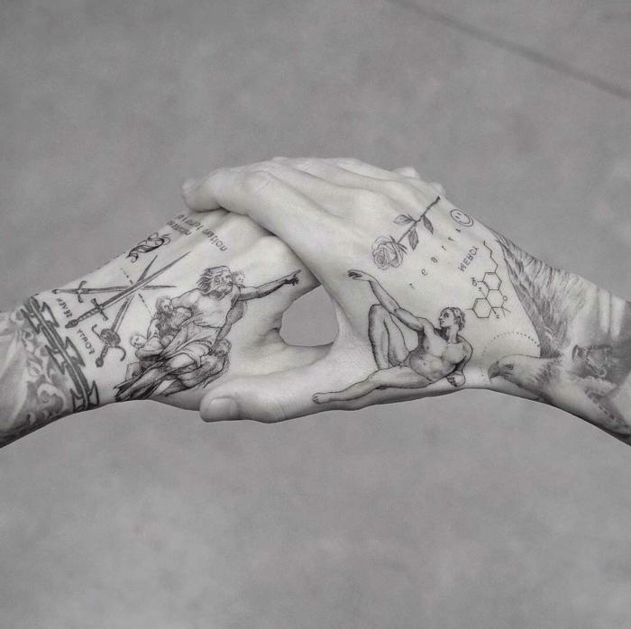 alucinantes ideas de tatuajes en la mano, tatuajes simbólicos super originales, 95 diseños bonitos