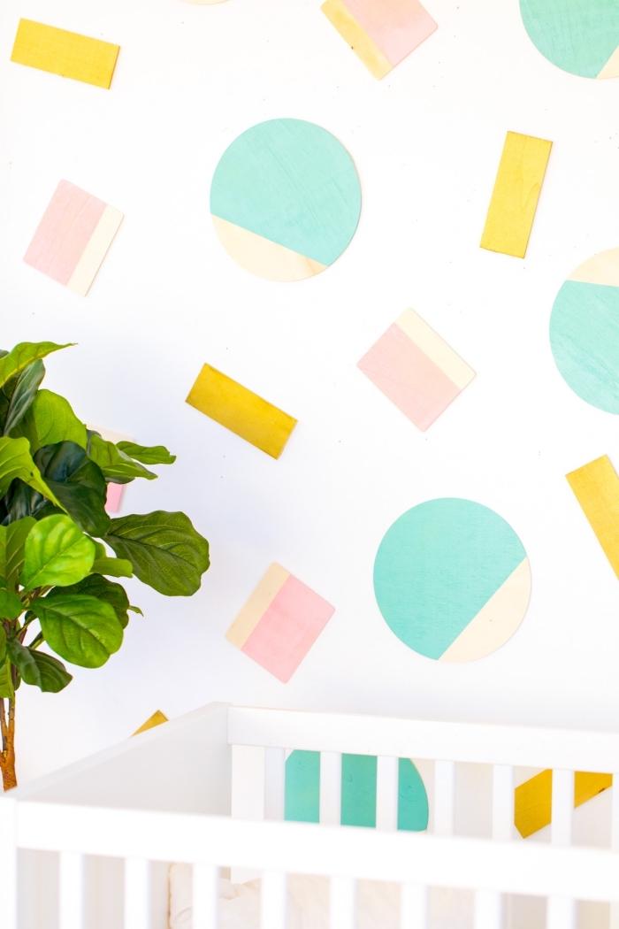 paredes decoradas con mucho encanto, fotos con ideas de manualidades originales paso a paso