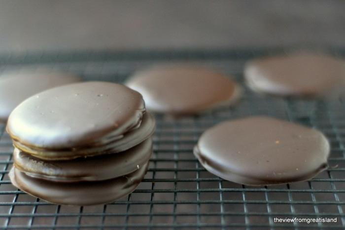 ideas de postres faciles y rapidos sin horno en bonitas imagines, galletas de chocolate caseras