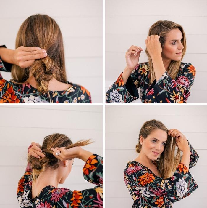 bonito peinado en estilo boho chic en imagines, peinados faciles para niñas y mujeres en 124 fotos