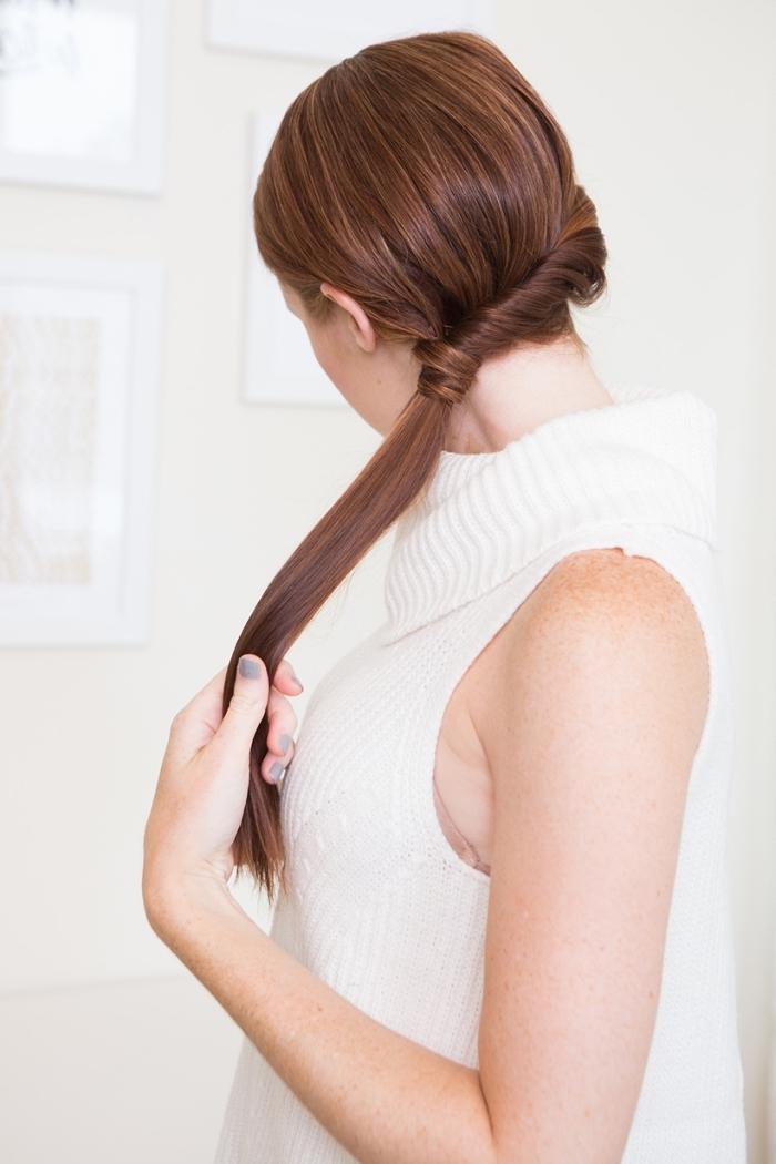 peinados pelo largo super originales y fáciles de hacer, preciosas ideas de recogidos fáciles y rápidos