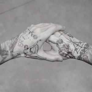 Tatuajes en la mano: 100 excelentes ideas en imagines