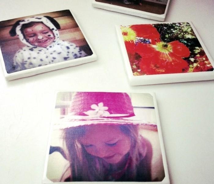 fotos con ideas de regalos con imagines, pequeñas fotos en formato instagram, detalles para regalar únicos