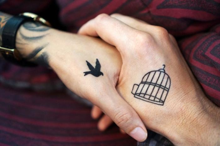 significado de tatuajes para parejas, originales diseños de tattoos para hombres y mujeres