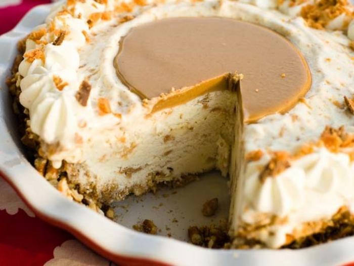 ricas ideas de postres fáciles y rápidas sin horno, preciosas imagines de tartas caseras hechas sin horno