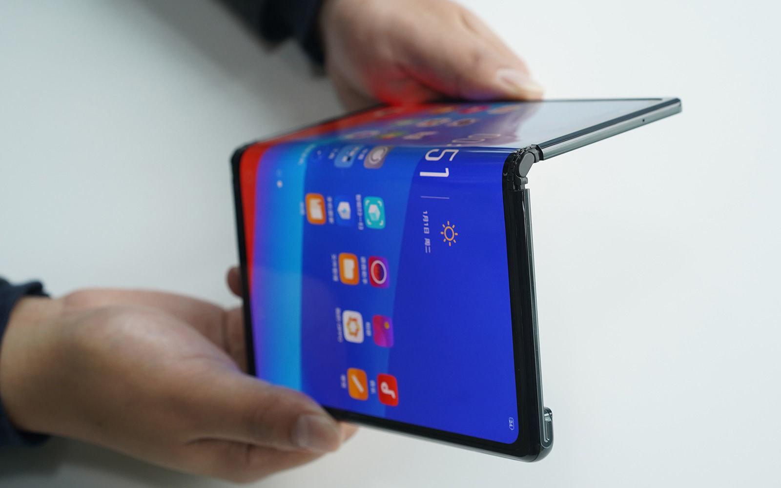 últimas novedades en los avances tecnológicos, teléfono plegable tipo tables de Huawai