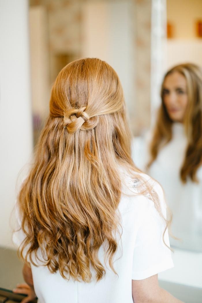 peinados faciles paso a paso , bonito semirecogido trenzado, ideas de peinados para pelo largo