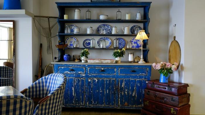 los mejores ejemplos de armarios pintados a la tiza, muebles pintados a la tiza bonitos en fotos