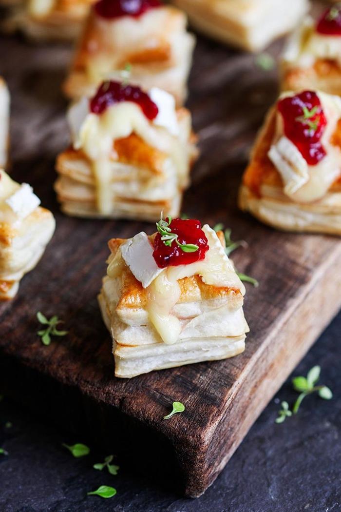 empanadas con queso y mermelada, bocadillos vegetarianos y veganos, bocados saludables