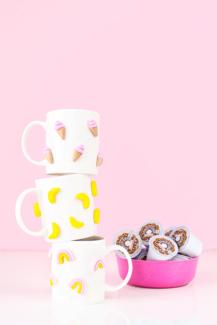 tazas decoradas personalizadas para regalar, regalos para mujeres super bonitos y atractivos