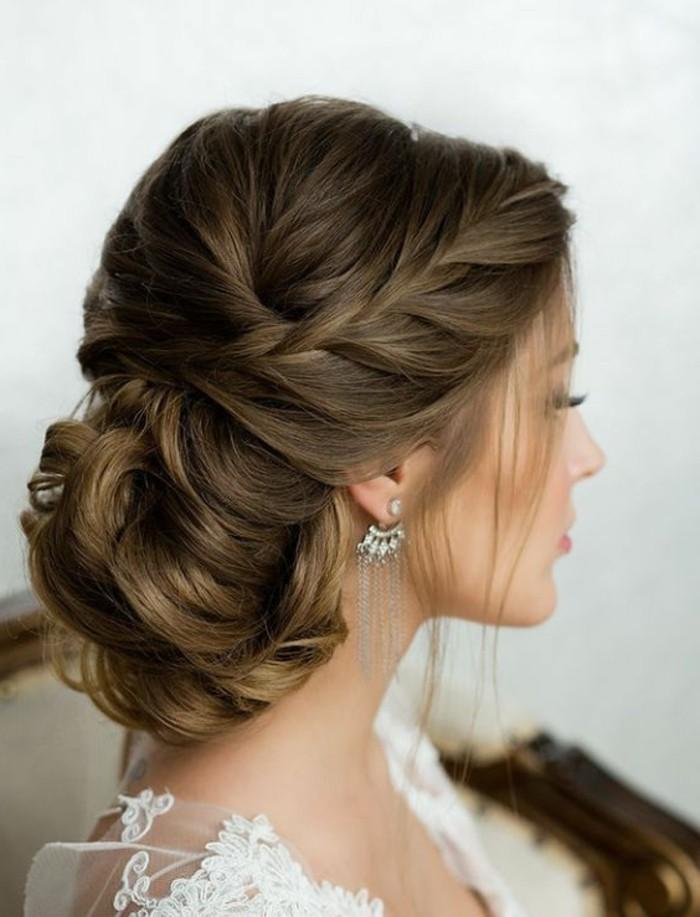 peinados de trenzas para bodas y eventos oficiales, 124 imagines de peinados fáciles y elegantes