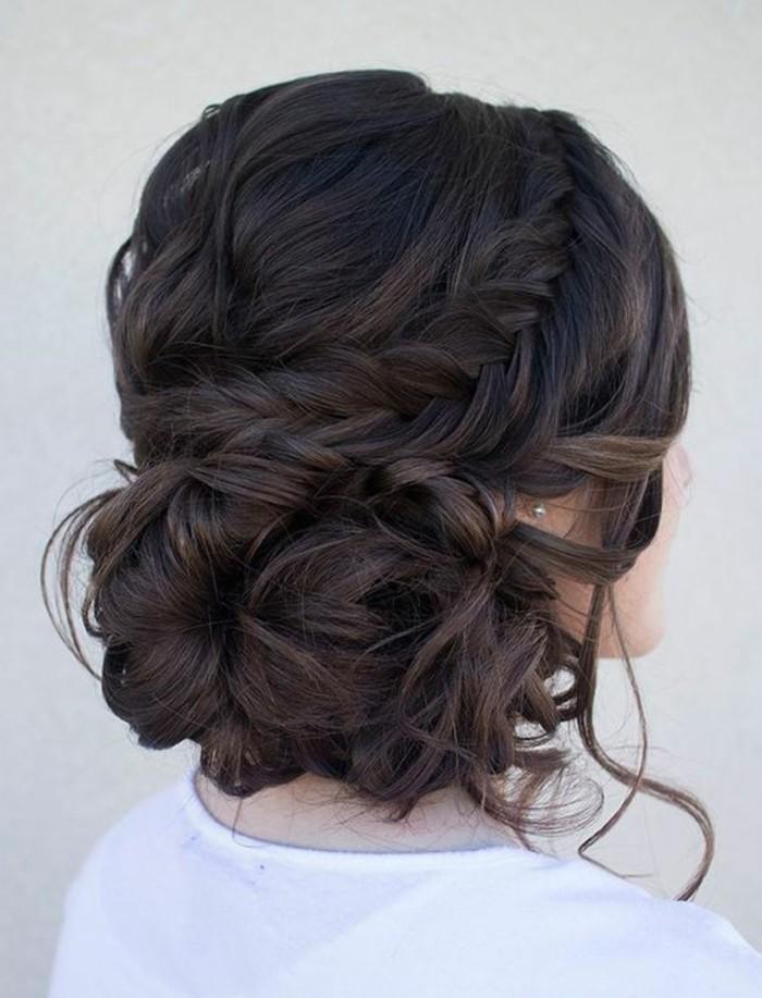 peinados faciles de hacer para bodas y ocasiones especiales, ideas de peinados trenzados pelo largo
