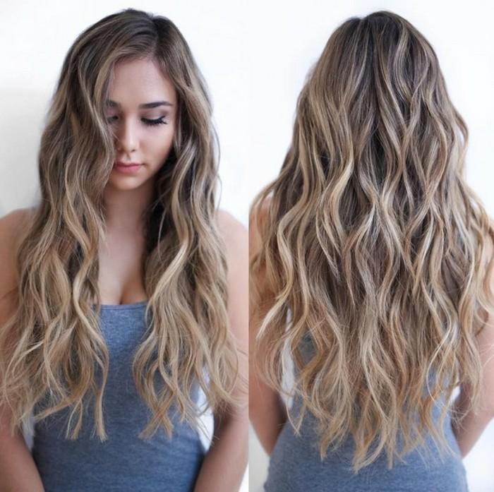 cuáles son los colores que mejor combinan con el cabello castaño, reflejos en el pelo bonitos