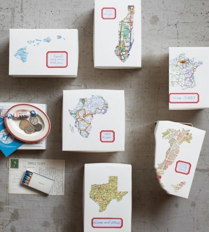 bonitos detalles para regalar para gente que ama los viajes, regalos originales pareja DIY