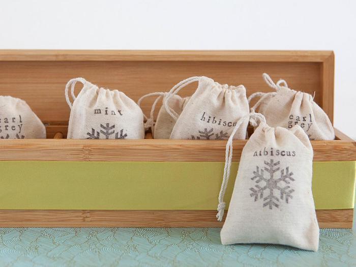 bolsas para hiervas, originales ideas de regalos para navidad, más de 120 fotos de regalos bonitos para regalar en navidad