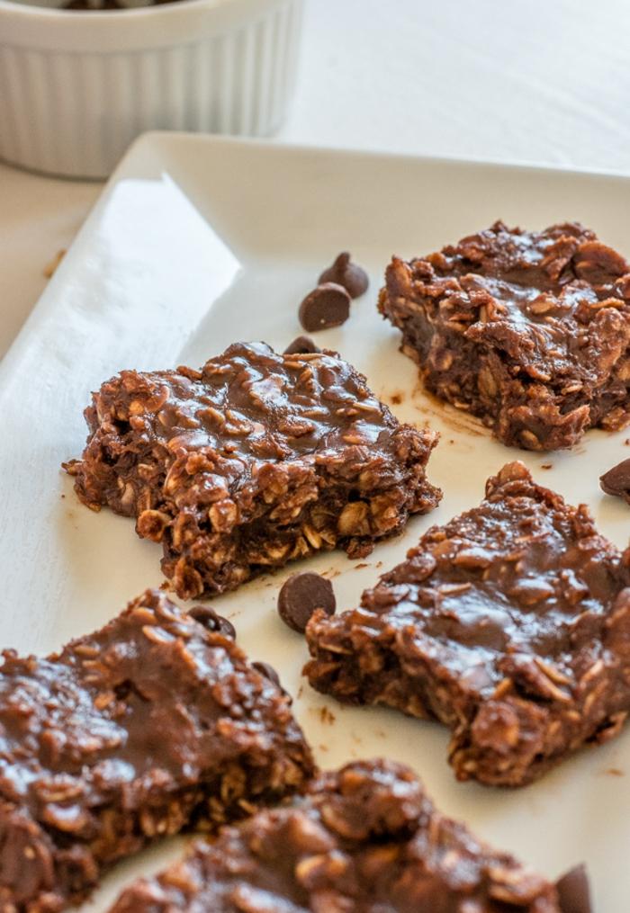 postres saludables con cereales sin horno, ejemplos de postres faciles y rapidos de hacer en casa
