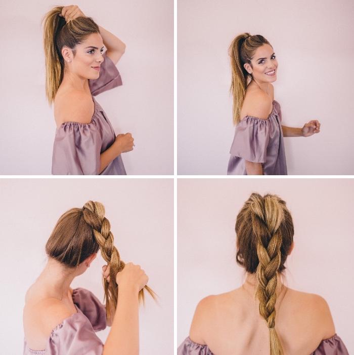 adorables ideas de peinados faciles pelo largo en imagines con los pasos, peinados sencillos y modernos
