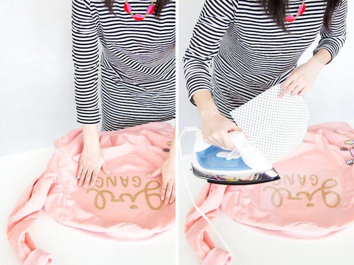 como hacer estampas en una chaqueta en casa paso a paso, regalos para mujeres super bonitos