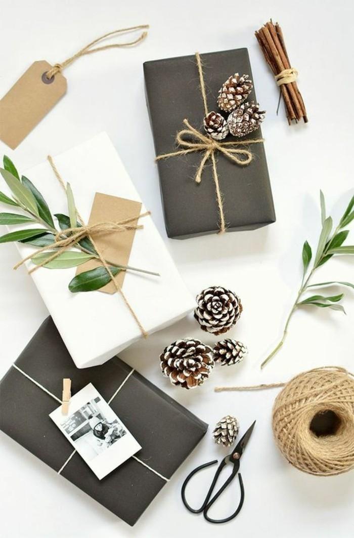 creativas ideas de embalaje DIY para Navidad, ideas para regalar en navidad bonitas y fáciles de hacer