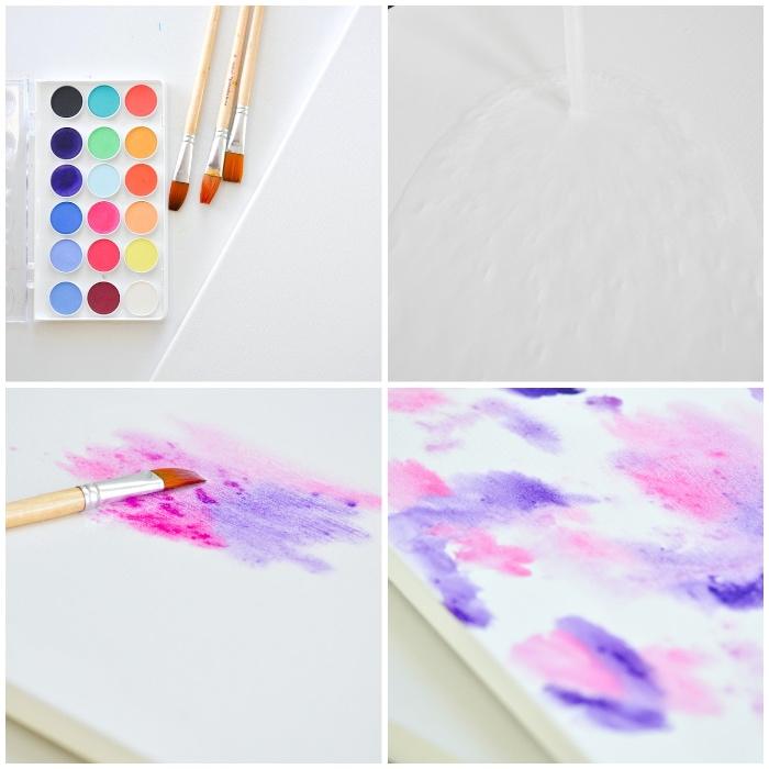 manualidades fáciles y rápidas, pinturas con acrílicos paso a paso, proyectos de bricolaje para decorar el hogar