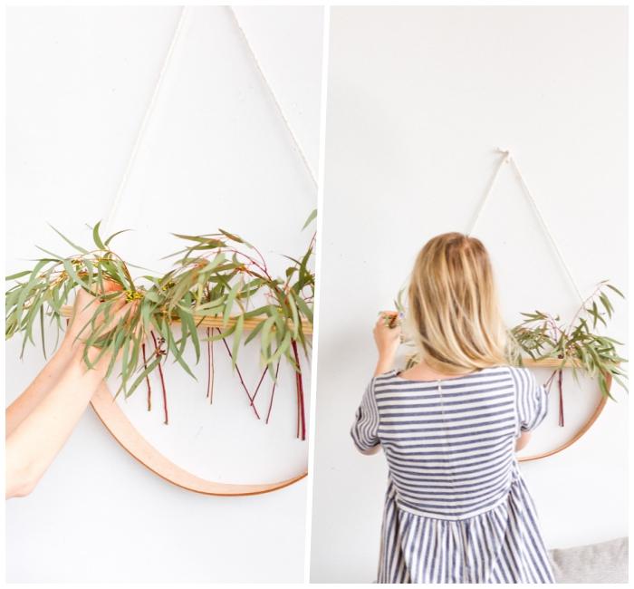 como hacer una maceta colgante para decorar la pared paso a paso, manualidades decoracion