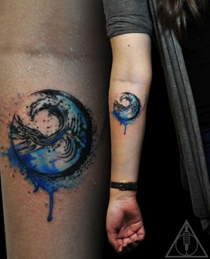 las mejores propuestas de tatuajes en acuarela, tatuajes tumblr únicos, tattoos originales en colores