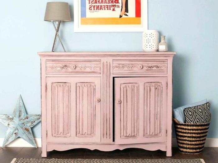 hermosos armarios en estilo shaby chic, pintar muebles de madera sin lijar paso a paso