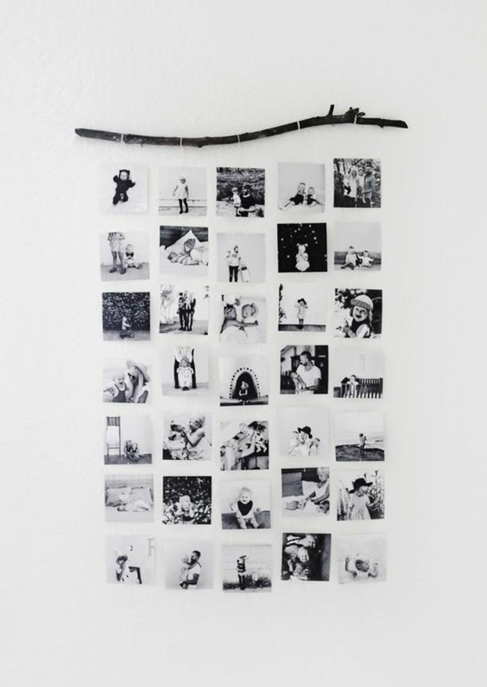 paredes decoradas con fotos, propuestas únicas de decoración con imagines en blanco y negro