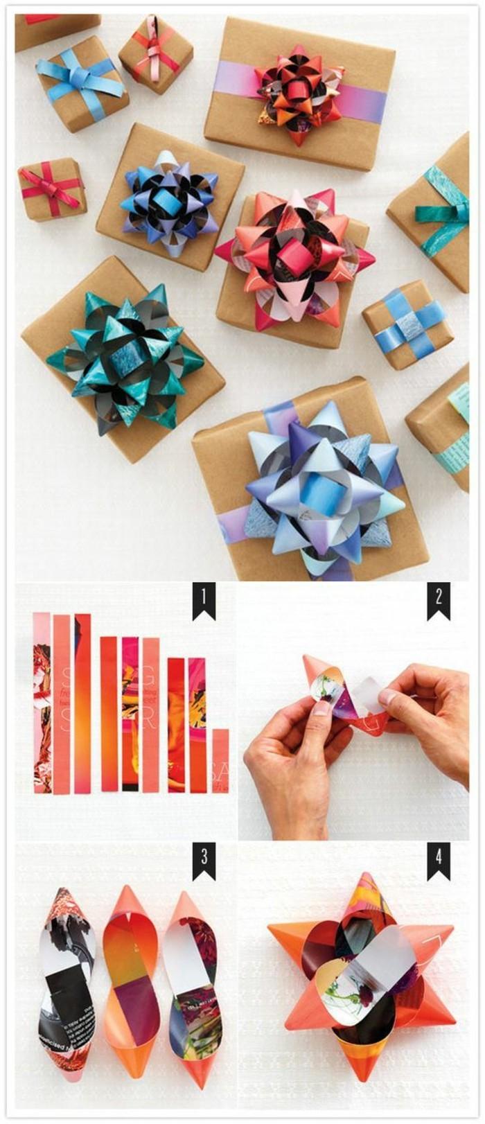 ideas para regalar en Navidad originales en imagines, embalaje DIY para regalos navideños