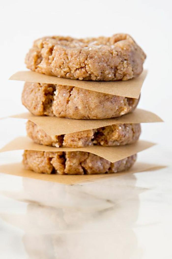 cómo hacer tartas frias sin horno, galletas con mantequilla de maní super ricas paso a paso