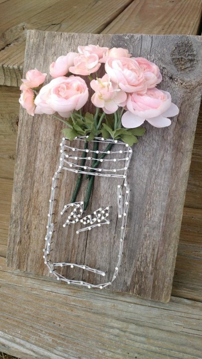 detalles para decorar el hogar hechos a mano, flores artificiales, ideas para decorar la casa en primavera