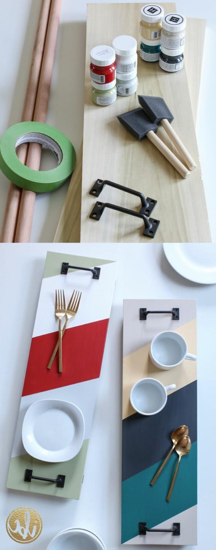 ejemplos de manualidades fáciles para regalar, set decorativo con mini tazas, regalos originales para tu pareja originales