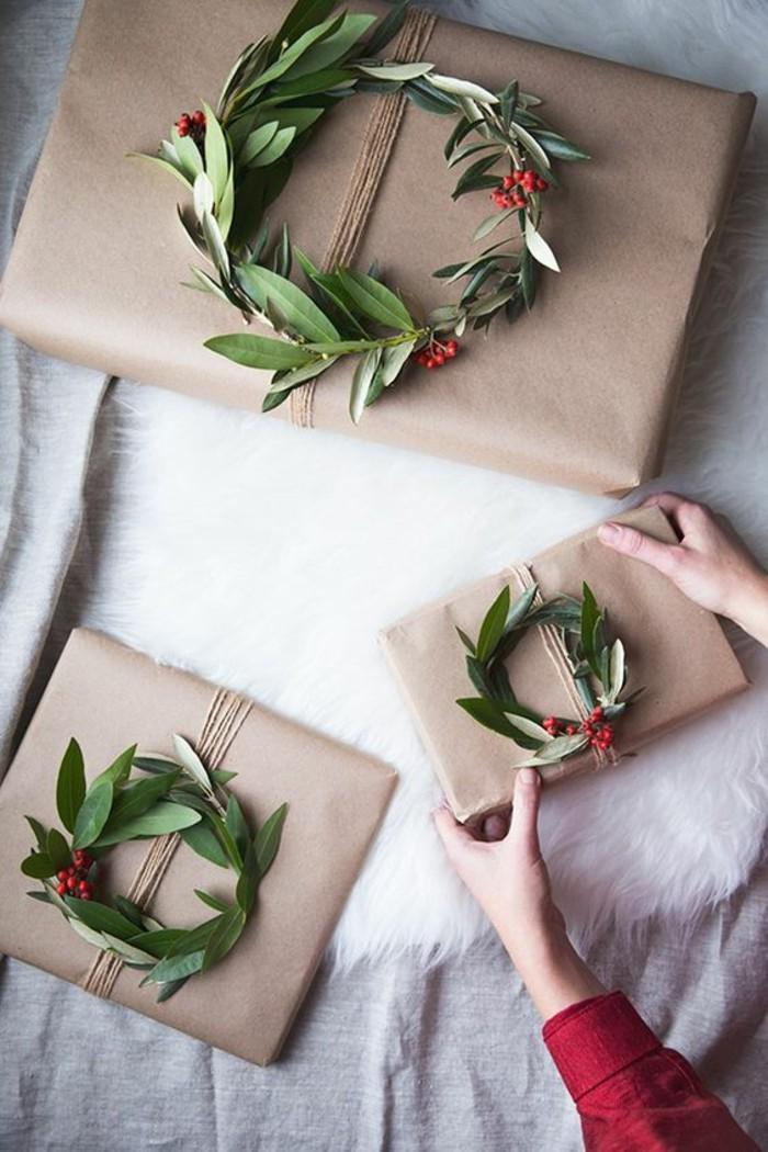 embalaje casero super original para los regalos navideños, ideas para regalar en navidad