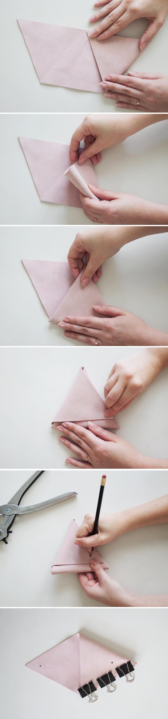 organizadores de cuero DIY paso a paso, ideas para hacer regalos personalizados fáciles de hacer para tus amigas
