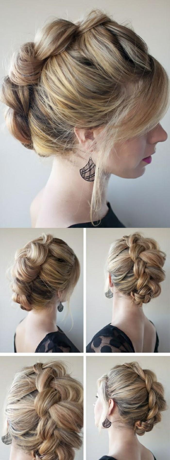 recogidos con trenzas fáciles y originales paso a paso, las mejores propuestas de peinados fáciles