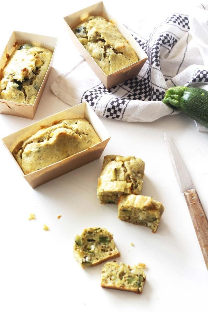 pan casero vegetariano con calabacines, canapes vegetarianos y aperitivos para tus invitados