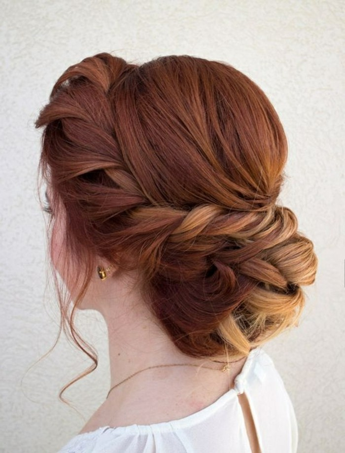 cómo hacer recogidos fáciles con trenzas paso a paso, peinados faciles media melena