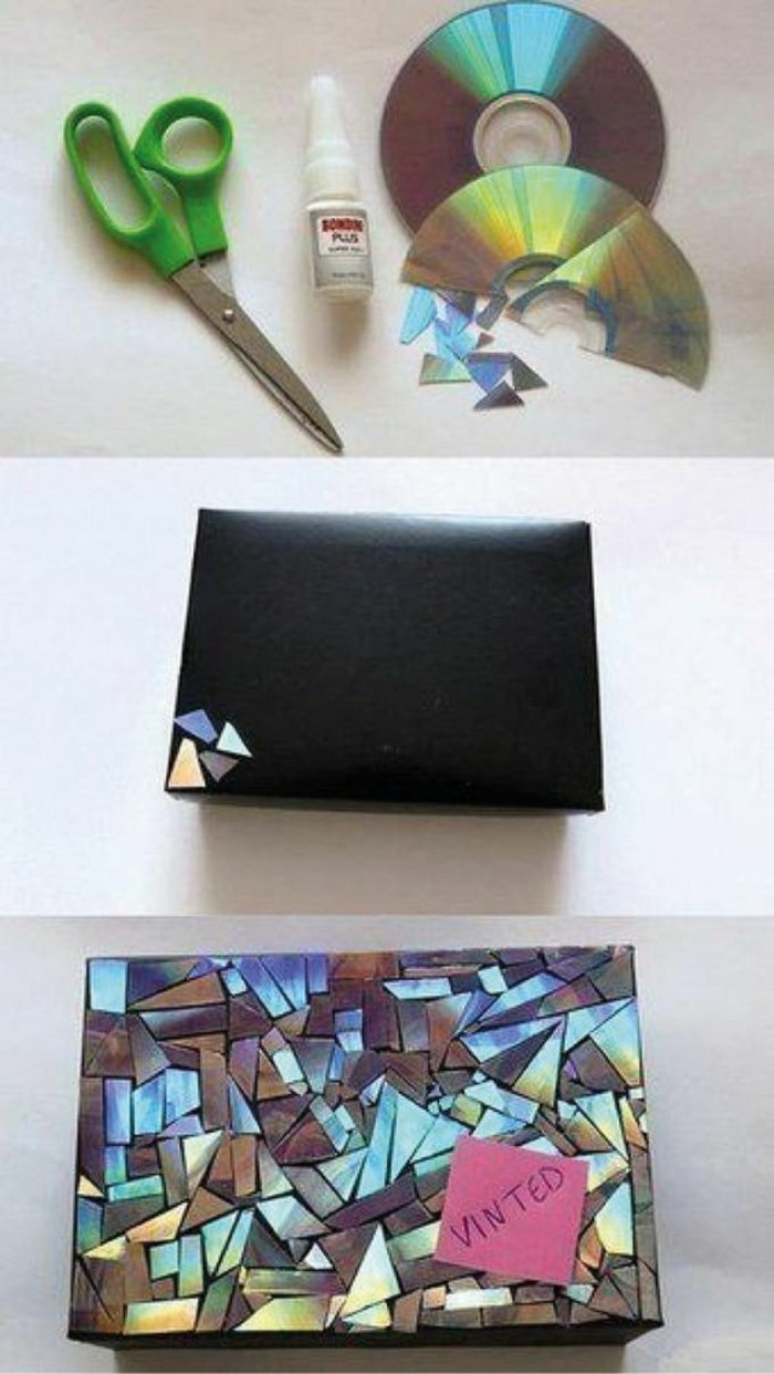 ideas para regalar a una amiga, manualidades originales con materiales reciclados paso a paso