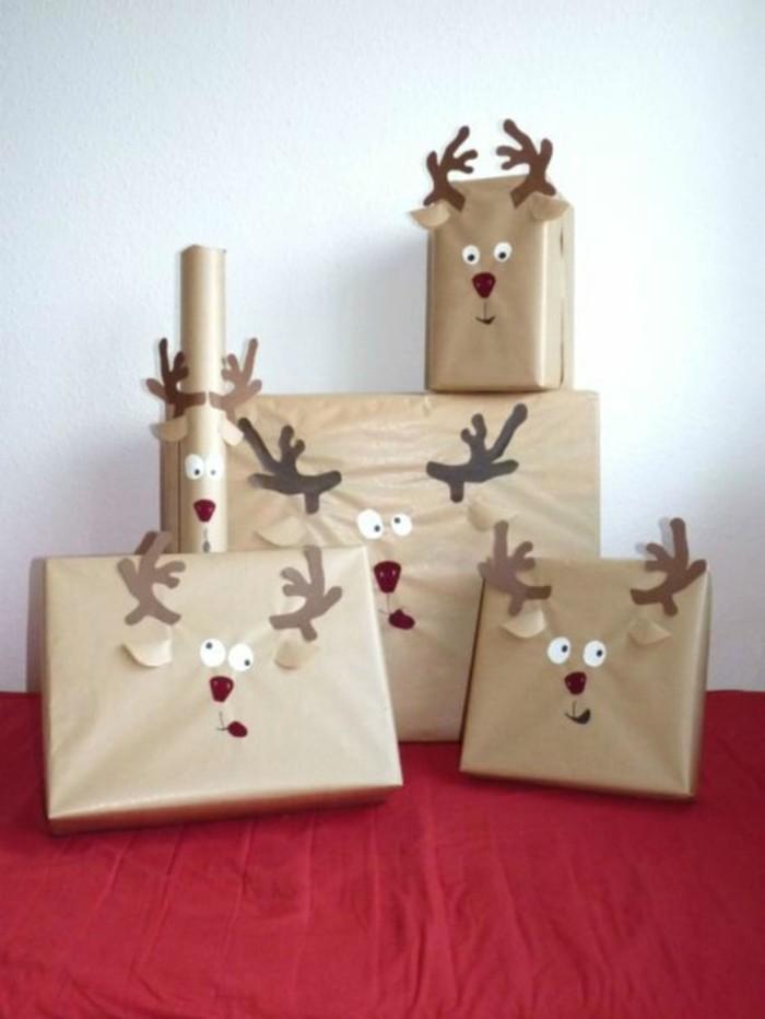 ideas para regalar en navidad, regalos originales hechos en casa, embalaje navideño DIY